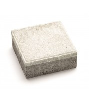 Тротуарная плитка  КВАДРАТ 100х100 Белый