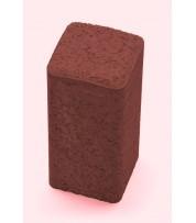Столбик фигурный квадратный 100х250х80 Красный