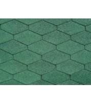 Битумная черепица IKO Diamantshield Forest green