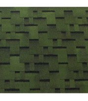 Битумная черепица ECOROOF Gothik Green