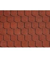 Битумная черепица IKO Victorian Tile red