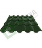 Металлочерепица Ruukki Adamante RR 11 Темно-зеленый