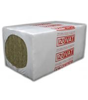Базальтовый утеплитель Izovat 145 Изоват 145 кг/м.куб., 50/100х1200х2000 мм (9,6 м.кв/ 7,2 м.кв)