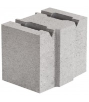 Блок бетонный 130х190х188