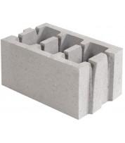 Блок керамзитобетонный 400х250х188