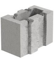 Блок керамзитобетонный 133х250х188