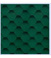 Битумная черепица Shinglas Кадриль Зеленый