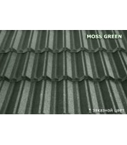 Композитная черепица MetroClassic Moss green