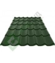 Металлочерепица Ruukki Monterrey RR 11 Темно-зеленый
