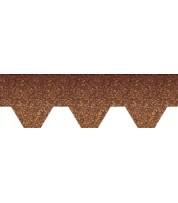 Битумная черепица Aquaizol Мозаика Осенний клён (антик + коричневый)