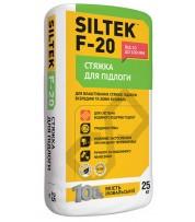 Стяжка для пола SILTEK F-20 толщиной от 40 до 100 мм