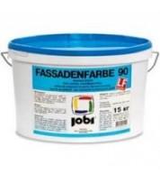 Краска белая матовая Jobi Fassadenfarbe 90