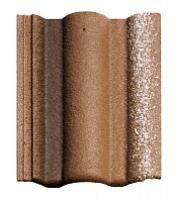 Цементно-песчаная черепица Braas Адрия Золотистая с отливом