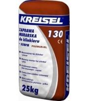Кладочная смесь для клинкерного кирпича KREISEL Klinker-mauermortel 130