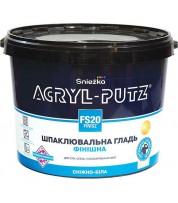 Акриловая шпаклевка Sniezka Akryl-Pytz Finish, 17 кг