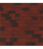 Битумная черепица Top Shingle Vintage Красный с тенью